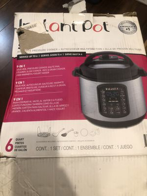 Instant pot 9 in 1 duo sv for Sale in Los Angeles, CA