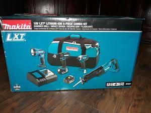 Makita 18v combo kit *NEW IN THE BOX** for Sale in Ruskin, FL