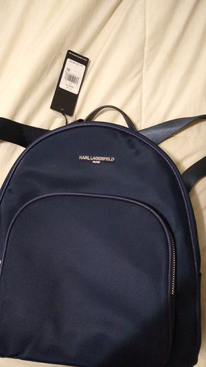 New Karl Lagerfeild small backpack/purse for Sale in Carver, MA