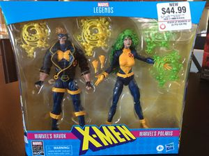 Marvel Legends Havoc and Polaris $50 for Sale in San Diego, CA