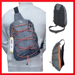 Brand NEW! Handy Grey Small Crossbody/Side Bag/Sling/Pouch For Everyday Use/Outdoors/Hiking/Biking/Traveling/Work/Sports/Gym for Sale in Carson,  CA