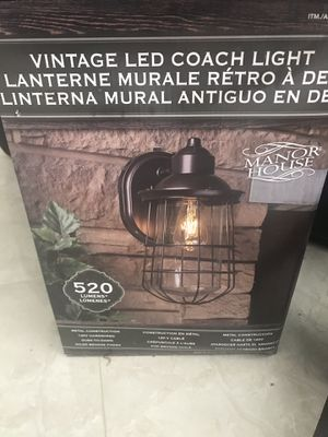 Brand New LED Exterior Lamps (two included in price) for Sale in Miami, FL