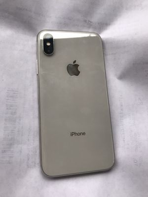 Apple iPhone X 256 gb unlocked for Sale in Amissville, VA