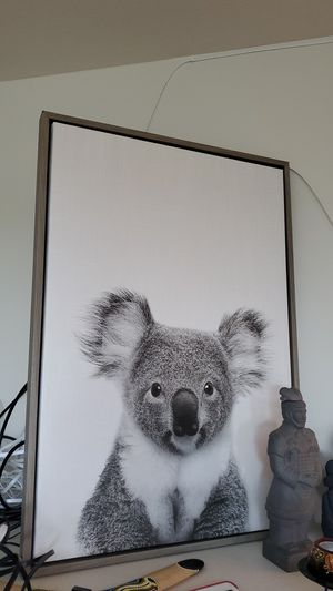 Koala canvas photo for Sale in Tacoma, WA