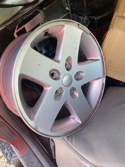 Jeep moaba wheels 17 for Sale in Adamstown,  MD