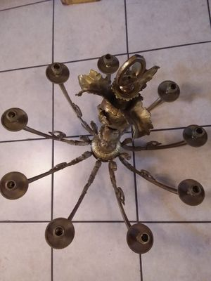 French candelabra solid bronze for Sale in Phoenix, AZ