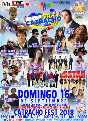 Catracho fest 2018 domingo 16 . 15901 old Columbia pike burstonville for Sale in Silver Spring, MD