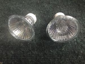 2x Philips Halogen GU10 bulbs 50w for Sale in Artesia, CA
