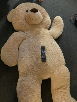 6 foot teddy bear plush or for costume for Sale in Los Angeles, CA