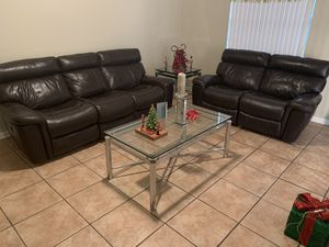 Gently Used Sofa and Loveseat Recliners for Sale in Davie, FL