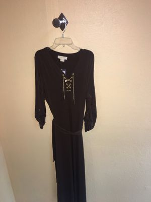Authentic Chocolate Brown Gold Chain Michael Kors Dress for Sale in Las Vegas, NV