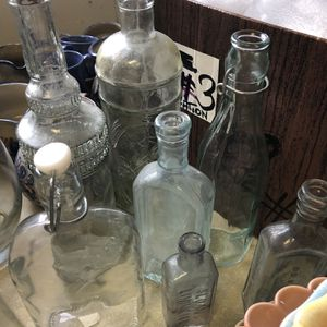 Collection Of Vintage Bottles for Sale in White Plains, NY