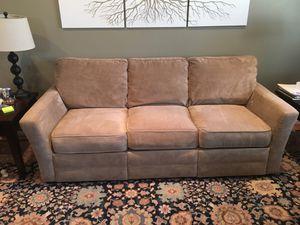Three cushion couch for Sale in Oakton, VA