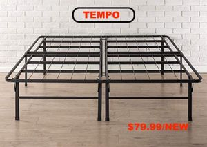 Tempo Collection 14 inch High Profile Platform Smart Base Bed Frame, Queen for Sale in Downey, CA