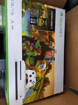 Xbox one s minecraft bundle for Sale in Dyess Air Force Base, TX