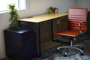 """Solid Bamboo Desktop: 48"""" wide x 24"""" Ergonomic Sustainable Desk Top Surface ONLY for Sale in Princeton, TX"""