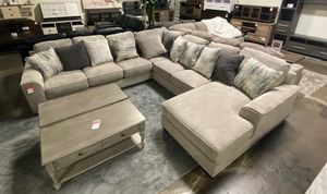 NEW IN THE BOX, HOT SELLER, BIG SIZE U SECTIONAL, IN STOCK NOW. for Sale in Westminster, CA