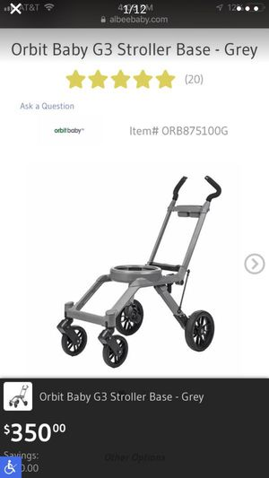 Brand New Baby Stroller Orbit G3 Still in Box, plus Bassinet and stand! for Sale in Auburn, WA