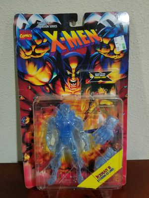 Iceman II extending ice limbs Marvel Comics X-Men ToyBiz RARE VINTAGE COLLECTABLE Action Figure RARE PYRO TRADING CARD for Sale in Thonotosassa, FL