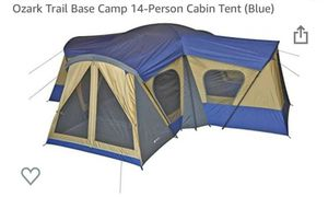 Ozark Trail Base camp tent 14 persons cabin- 2 tents for $600 for Sale in Dallas, TX