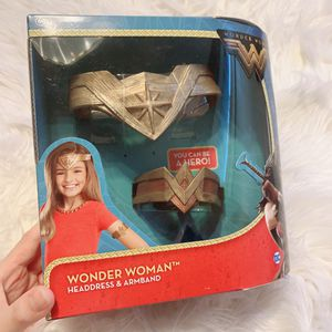 Wonder Woman headband and arm band for Sale in Chino Hills, CA