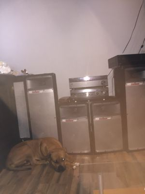 Mtx audio thunder pro and 1 receiver for Sale in Philadelphia, PA