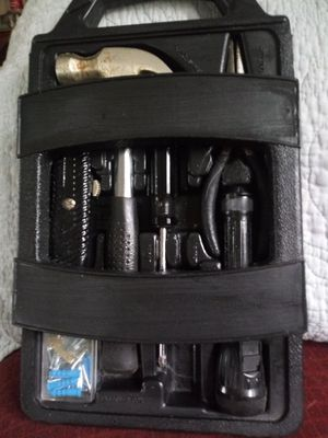 Fasteners Box. Includes hammer, box cutter, flashlight etc. for Sale in Kentwood, MI