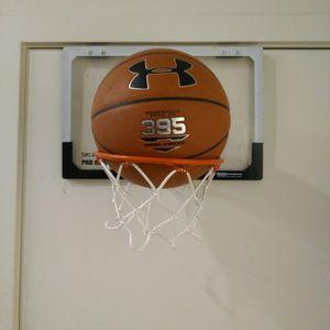 Under Armour Basketball & SKLZ Pro Mini Hoop for Sale in Portland, OR