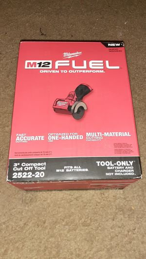"""Milwaukee M12 Fuel 3""""Compact Cut Off Tool for Sale in Baltimore, MD"""