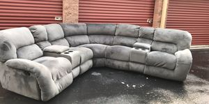 Super nice micro fibor sectional couch set for Sale in Bothell, WA