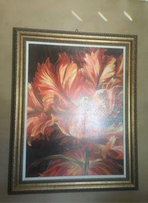 Cuadro Pintura de flor for Sale in Midland, TX