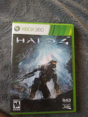 Xbox 360 halo 4 for Sale in Los Alamitos, CA