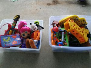 2 boxes of kids toys for Sale in Mount Sterling, KY