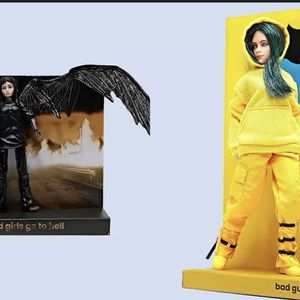 """Billie Eilish Doll Figure Lot - """"Bad Guy"""" -""""All THE Good Girls Go To Hell"""" for Sale in Queen Creek, AZ"""