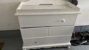 Solid Wood Changing Table for Sale in Suffield, CT