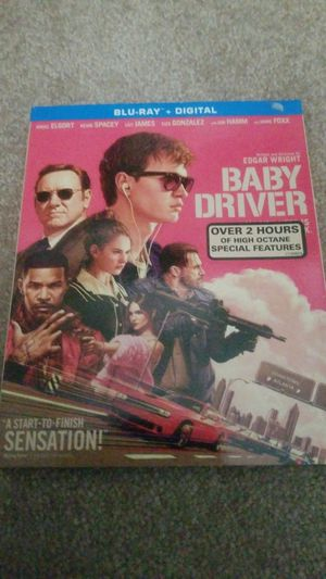 Baby driver blu ray for Sale in Gustine, CA
