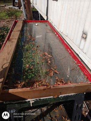 Framed sheet of glass for Sale in Tupelo, MS
