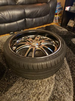 20 inch rims (read description) for Sale in Los Angeles, CA