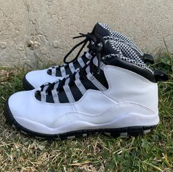 Air Jordan Retro 10 X Steel Sneakers Size 7Y 310805-103 for Sale in Laurel,  MD