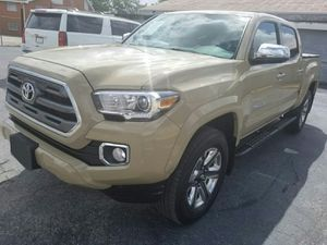 Toyota Tacoma Limited 2017 con Pago Inicial desde $6000 for Sale in Houston, TX