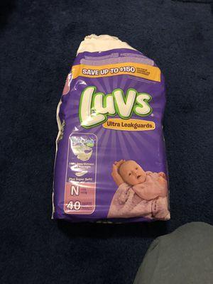 Newborn diapers for Sale in Alpharetta, GA