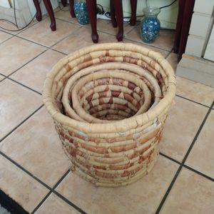 3wicker Baskets for Sale in Clearwater, FL