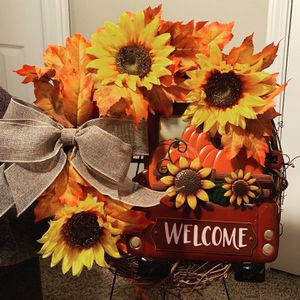 Fall sunflower wreath for Sale in Mansfield, TX