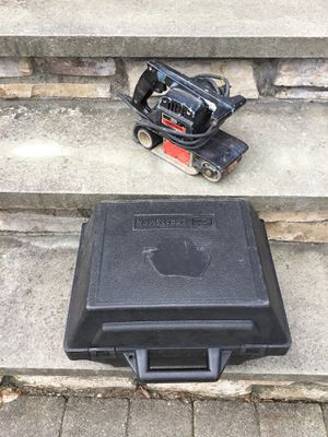 Craftsman belt sander with case for Sale in Concord, MA
