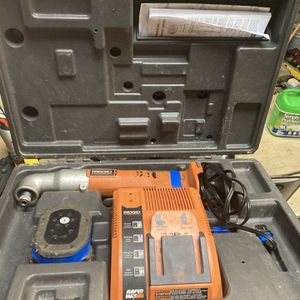 Lightly Used Rigid Angle Impact Drill for Sale in Newberg, OR