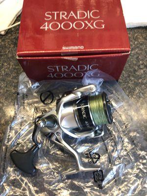 Fishing reel shimano Stradic 4000 for Sale in Long Branch, NJ