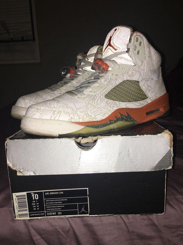 Jordan rare laser 5s