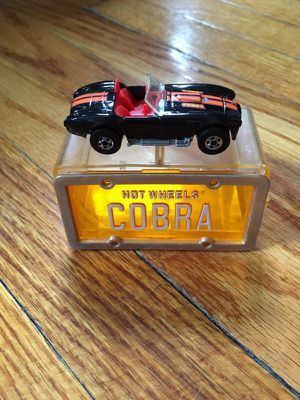 Hot Wheels Cobra with case for Sale in Alexandria, VA