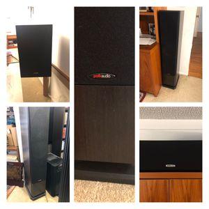Polk Audio 5 Speaker Surround Sound System for Sale in Los Angeles, CA