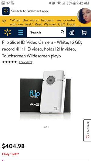 Flip Video Slide HD Camcorder for Sale in Saint Joseph, MO